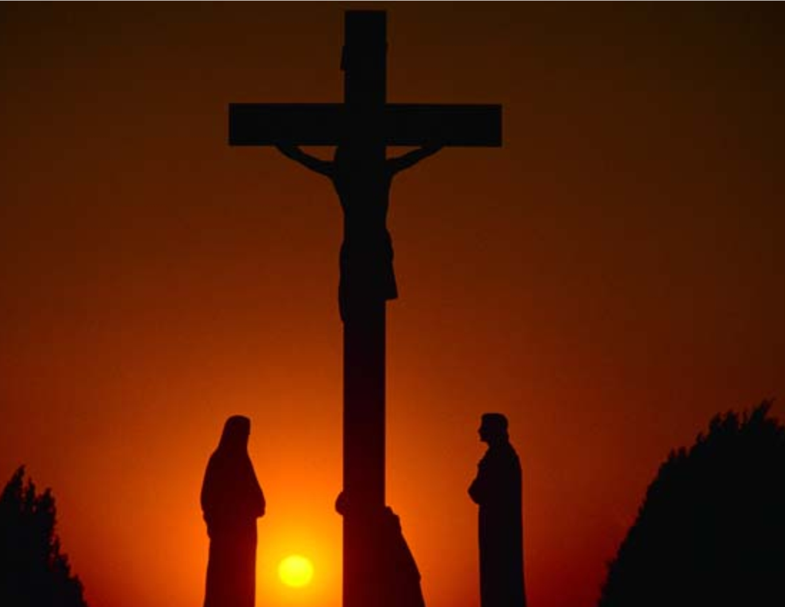 Crucifixion Sunset