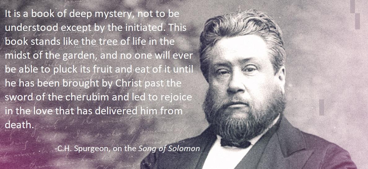 Spurgeon song of solomon