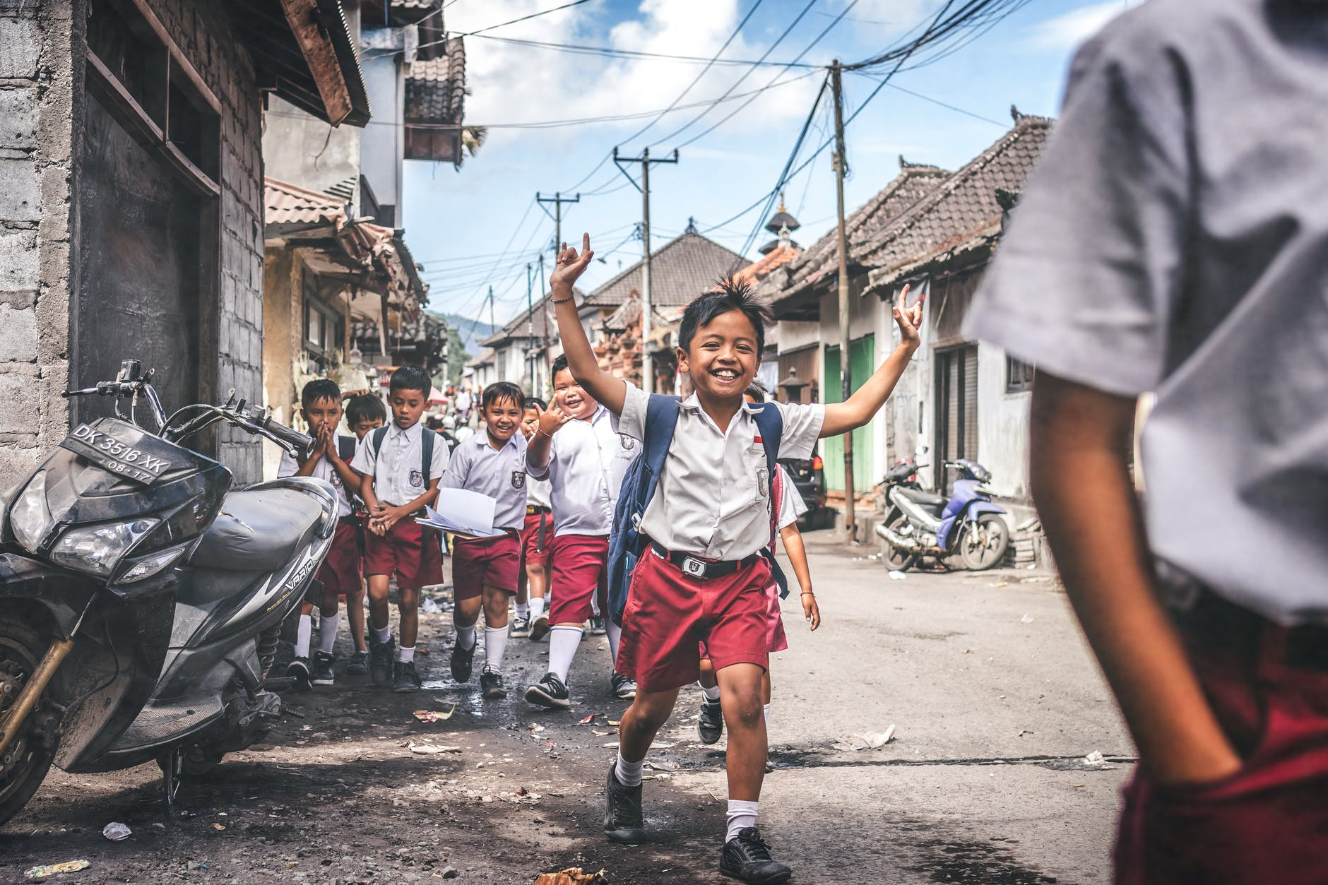 activity asian people boys children